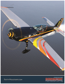 4-22-15 Meet the Superstars of Aerobatic Performers Hosted by Concorde Battery Corporation - Booth B050 & B051